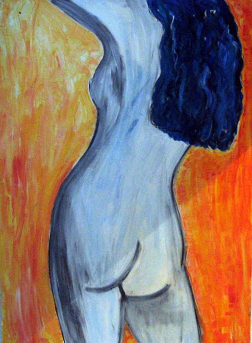 acryl - carton - 70 x 100 cm